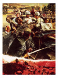 Assassination -- How Two Bullets Killed Ten Million Men Giclee Print by Neville Dear