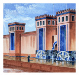 From Then Till Now: the Citadels Stand Firm, the Story of Fortifications Giclee Print by  Escott