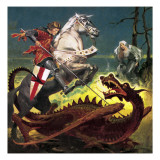 The Truth Behind the Legend: St George -- the Soldier Who Became a Saint Giclee Print by  English School