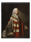 Portrait of a Nobleman, Thought to Be James, 8th Earl of Moray Giclee Print by Allan Ramsay