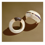 Two Bracelets, from the Tomb of Tutankhamun, New Kingdom Giclee Print by  Egyptian 18th Dynasty