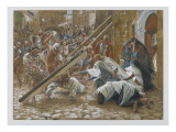 Jesus Meets His Mother, Illustration from 'The Life of Our Lord Jesus Christ', 1886-94 Giclee Print by James Tissot