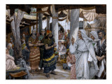 The Healing of the Ruler's Son, Illustration for 'The Life of Christ', C.1884-96 Giclee Print by James Jacques Joseph Tissot