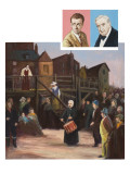 Scene from &#39;Peter Grimes&#39; by Benjamin Britten Giclee Print by Ralph Bruce