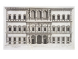 Palazzo Farnese, from 'Palazzi Di Roma', Part I, Published 1655 Giclee Print by Pietro Ferrerio