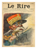 Caricature of General Zurlinden, from the Front Cover of 'Le Rire', 24th September 1898 Giclee Print by Charles Leandre