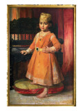 Portrait of Prince Albert, Eldest Son of the Maharaja Duleep Singh, 1870 Giclee Print by George Richmond