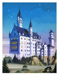 Neuschwanstein -- a Fairy-Tale Castle Built by a 'Madman' Giclee Print by  Mcbride