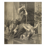 A Mother Killed by Her Son, from 'Le Petit Parisien', 20th September 1891 Giclee Print by Beltrand and Clair-Guyot, E. Dete