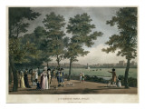 St. Stephen&#39;s Green, Dublin, from a Set of Twenty Views of Dublin, 1796 Giclee Print by James Malton