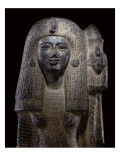 Standard Bearing Statue of Queen Nefertari, New Kingdom, C.1290-1224 Bc Giclee Print by Egyptian 19th Dynasty