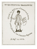 American Bill of Credit, 1775, Illustration from 'Cassell's Illustrated History of England' Giclee Print by  American School