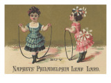 Advertisement for Naphey's Philadelphia Leaf Lard, C.1880 Giclee Print by American School