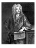 Sir John Vanbrugh, Engraved by John Faber the Younger, 1727 Giclee Print by Jonathan the Elder Richardson