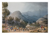 Serra De Estrella or De Neve, Engraved by C. Turner, 16th May 1811 Giclee Print by Thomas Staunton St. Clair