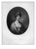 Angelica Catalani, Engraved by Antoine Cardon Giclee Print by Jean Francois Marie Huet-Villiers