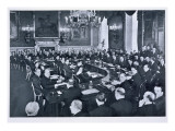 The St. James's Palace Conference, London, 19th March 1936 Giclee Print by  German photographer