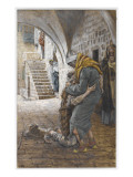 The Return of the Prodigal Son, Illustration for 'The Life of Christ', C.1886-96 Premium Giclee Print by James Tissot