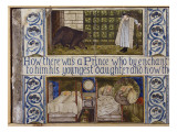 Beauty and the Beast Tile Panel, Morris, Marshall, Faulkner and Co., C.1867 Giclee Print by Edward Burne-Jones