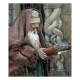 Simeon, Illustration for &#39;The Life of Christ&#39;, C.1886-94 Giclee Print by James Jacques Joseph Tissot