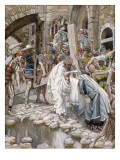 A Holy Woman Wipes the Face of Jesus, Illustration for 'The Life of Christ', C.1886-94 Giclee Print by James Jacques Joseph Tissot