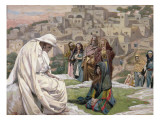 Jesus Wept, Illustration for 'The Life of Christ', C.1886-96 Giclee Print by James Jacques Joseph Tissot