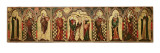 Retable Depicting the Crucifixion with Eight Saints, C.1300 Giclee Print by  English School