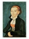 Katharina Von Bora, Future Wife of Martin Luther, 1526 Lámina giclée por Lucas Cranach the Elder