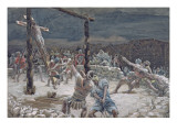 The Raising of the Cross, Illustration for 'The Life of Christ', C.1886-94 Giclee Print by James Tissot
