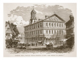 Faneuil Hall, Boston, Which Webster Called 'The Cradle of Liberty', from a Book Pub. 1896 Giclee Print by  American School