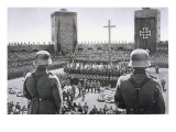 The Nazi Memorial Ceremony for President Von Hindenburg Giclee Print by  German photographer