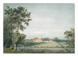 Dedham: the Old Lecture House Seen across Long Meadow from Black Brook Giclee Print by John Constable