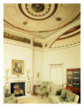 The Etruscan Room Designed by Robert Adam in the Neo-Classical Style, 1777 Giclee Print by Robert Adam