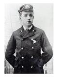 Ernest Shackleton, Aged 16, Wearing His White Star Line Uniform, 1890 Reproduction procédé giclée par  English Photographer