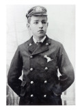 Ernest Shackleton, Aged 16, Wearing His White Star Line Uniform, 1890 Giclee Print by  English Photographer