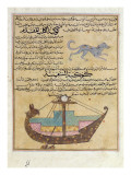 Ms E-7 Fol.26B the Constellations of the Dog and the Keel Giclee Print by Islamic School