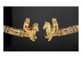 Neck Ring with Points in the Form of Scythian Horsemen Giclee Print by Scythian