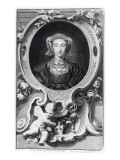 Anne of Cleves, Engraved by Jacobus Houbraken, 1740 Giclee Print by Hans Holbein the Younger