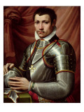Portrait of a Knight of the Order of St. Stephen Giclee Print by Michele Di Ridolfo Tosini