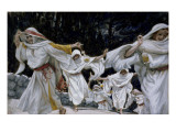 The Wise Virgins, Illustration for 'The Life of Christ', C.1886-94 Giclee Print by James Tissot