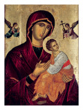 Icon Depicting the Holy Mother of the Passion Giclee Print by Greek School