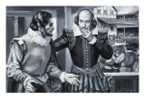 Who Said... Ben Johnson and William Shakespeare Giclee Print by Paul Rainer