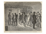 Liberation of Prisoners from Coldbath Fields House of Correction Giclee Print by  English School