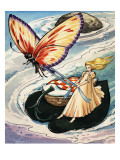 Thumbelina, from the Fun in Toyland Annual, 1959 Premium Giclee Print by Nadir Quinto