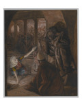 The Third Denial of Saint Peter - Jesus&#39; Look of Reproach Giclee Print by James Jacques Joseph Tissot