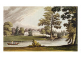 Stoke Place, from Ackermann's 'Repository of Arts', Published C.1826 Giclee Print by John Gendall