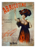 Poster Advertising 'Abricotine', Made by P. Garnier, Paris Giclee Print by French School