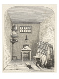 Separate Cell in the Old Part of the Prison at Brixton Giclee Print by  English School
