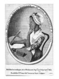 Phillis Wheatley, Frontispiece to Her 'Poems on Various Subjects', 1773 Giclee Print by  English School