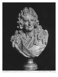 Portrait of Nicolas Boileau, known as Boileau-Despreaux Giclee Print by Jean-jacques Caffieri